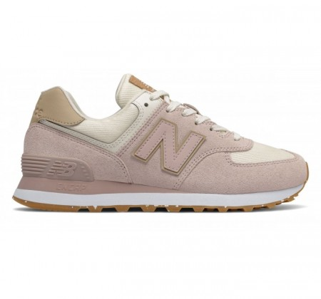 New Balance Suede WL574v2 Space Pink