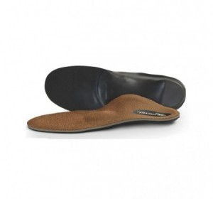 Aetrex Men's L2225 Memory Foam Posted Orthotic w/ Metatarsal Support