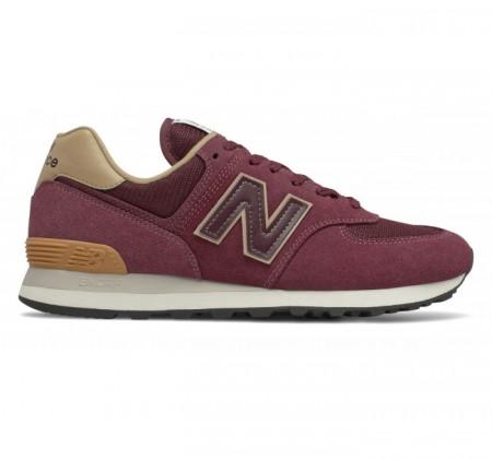 New Balance 574v2 Essentials Burgundy