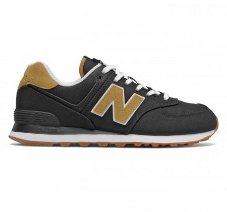 New Balance ML574v2 Black Workwear